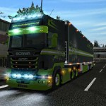 Scania R560 6×4 German Truck Simulator