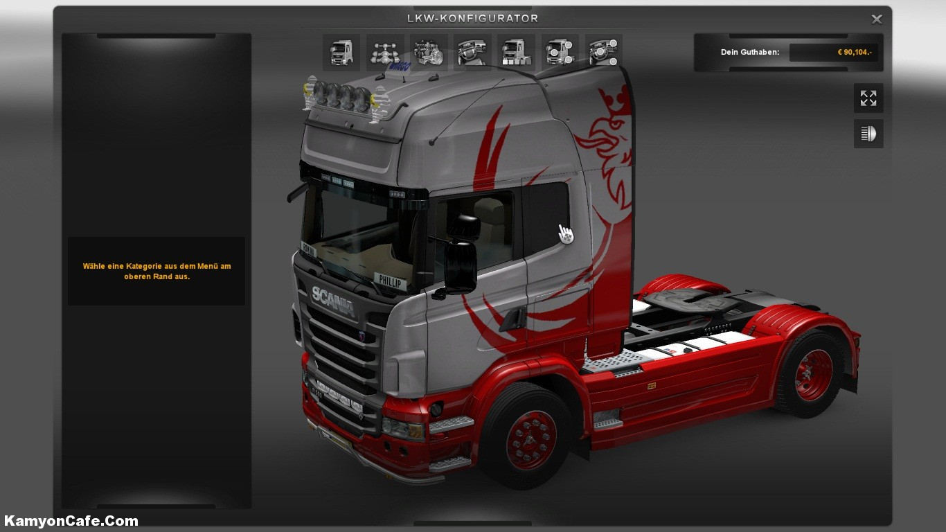 Scania-Red-Griffin-by-v8fan