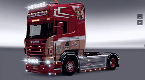 Scania Ronny Ceusters Skin