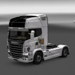 Scania Absolut Vodka Skin