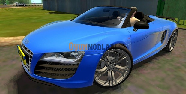 Audi R8 GT Spyder – 1.3.3 City Car Driving