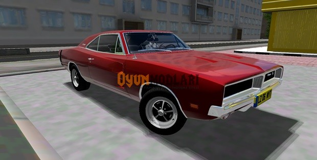 Dodge Charger R-T-SE 1969 Model – 1.3.3 City Car Driving