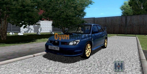 Subaru Impreza WRX STi 1.3.3 City Car Driving