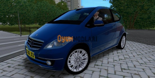 Mercedes-Benz A200 Turbo Coupe – 1.3.3 City Car Driving