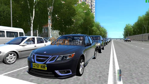 City Car Driving 1.4 – Saab 9-3 Araba Yaması