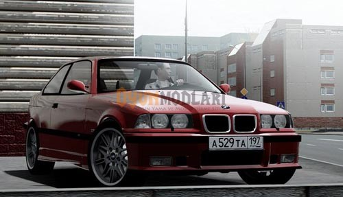 City Car Driving 1.4 – BMW M3 E36 Araba Yaması