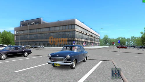 City Car Driving 1.4 – GAZ-21 Volga Araba Yaması
