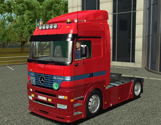 Photo of Mercedes Benz Actros MP1