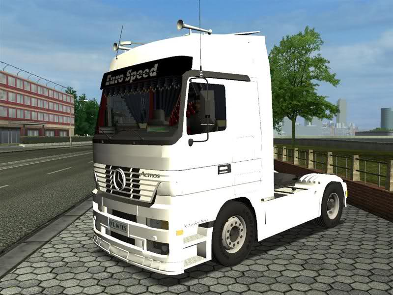 Photo of Mercedes Benz Euro Speed (ETS)