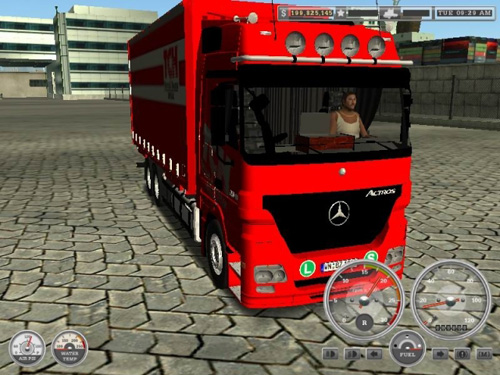 Photo of Benz MB ACTROS MP2 18Wos Haulin