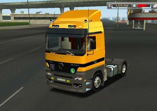 Photo of MB Actros 1840 18 Wos Haulin