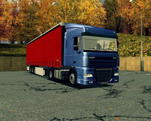 Photo of DAF XF105 Euro Truck Simulator