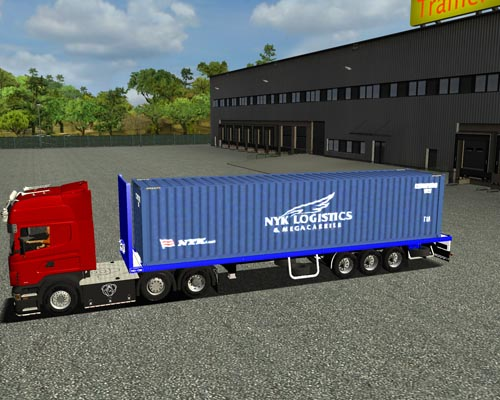Photo of Pactom Konteynır Dorsesi(Euro Truck Simulator)