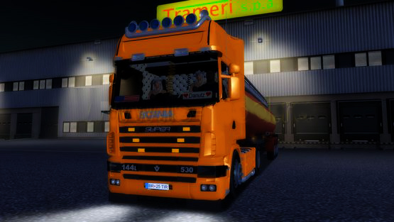 Photo of Scania 144L V8 530