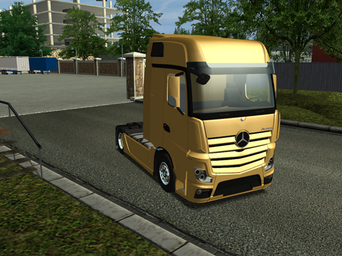 Photo of Mercedes Benz Actros MP4