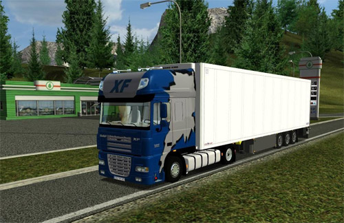 Photo of Daf XF 105 Mega Euro Truck Simulator Modu