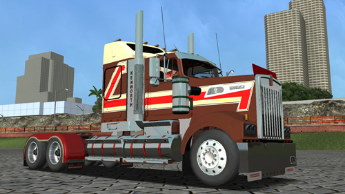 Photo of Kenworth T908 18 Wos Haulin