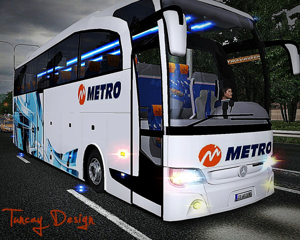 Photo of Mercedes Benz Travego 15 Cilt Metro Turizm