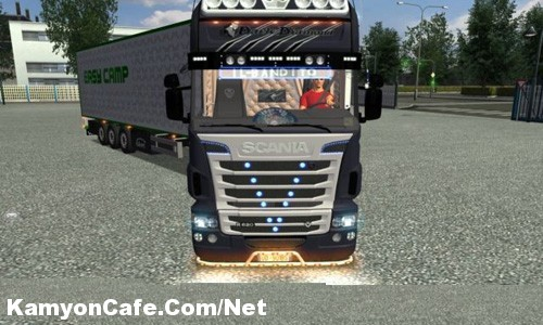 Photo of Scania Dark Diamont konvert Euro Truck Simulator