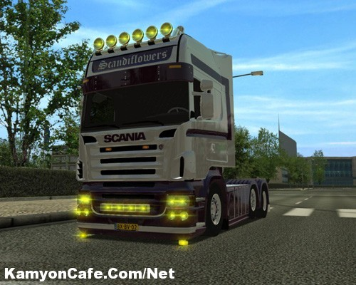 Scania-Flower kopya