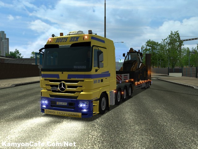 Photo of MB Actros 4160 Euro Truck Simulator