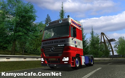 Photo of MB Mega Space Rijnberg Euro Truck Simulator