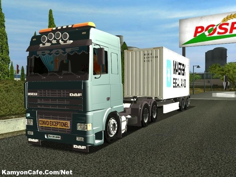 Photo of DAF XF 95 Euro Truck Simulator