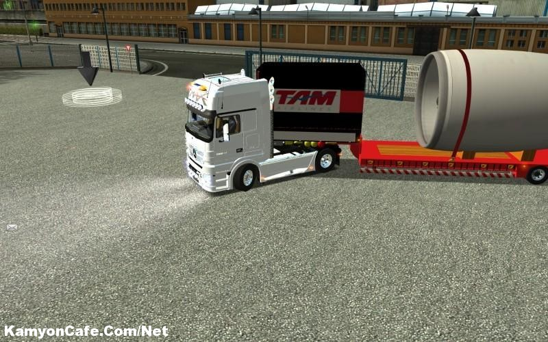 Photo of MB Actros MPIII 1860 German Truck Simulator