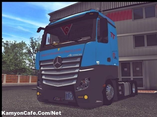 Photo of Mercedes Actros MP4 1841 German Truck Simulator