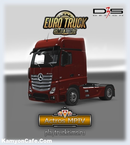 Photo of Actros MP4 [ETS2]