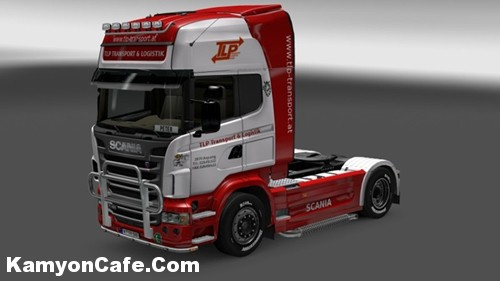 Photo of Scania TLP Avusturya Skin [ETS2]