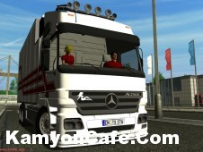 Photo of Mercedes Benz Actros Euro Truck Simulator