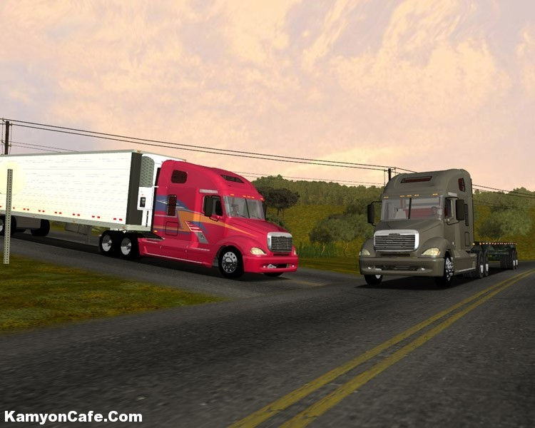 Photo of Freightliner Columbia [18 Wos Haulin]