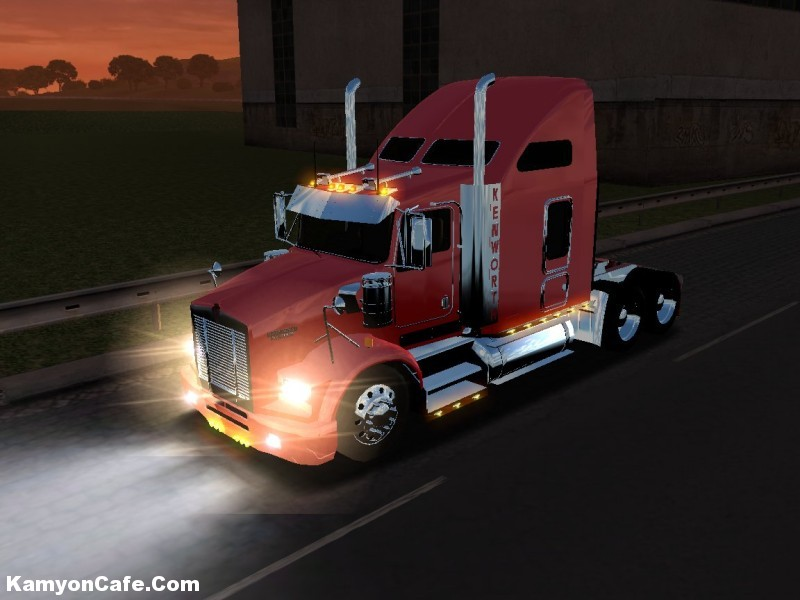 Photo of Kenworth T800 [18 Wos Haulin]