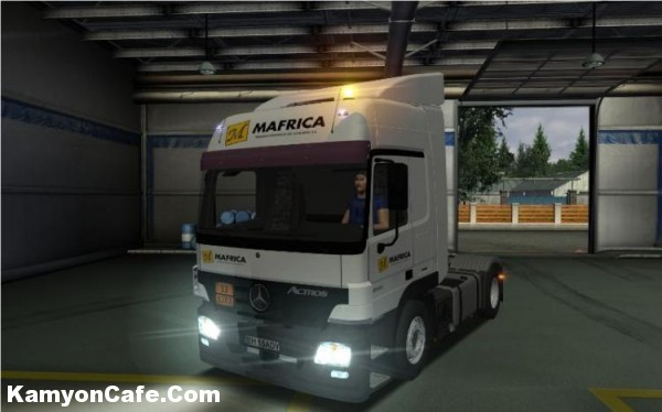 Photo of Mercedes Benz Actros 1844L MP2 German Truck Simulator