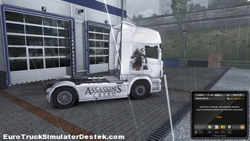 Photo of Scania R Assassin's Creed Skin [ETS 2]