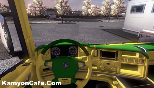 Photo of Scania Interior [ETS2]