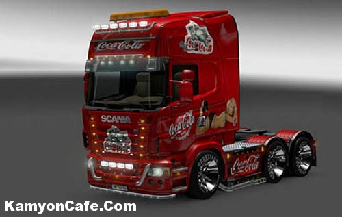Photo of Scania Coca Cola Skin [ETS2]
