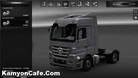 Photo of Mercedes Benz Actros [ETS 2]