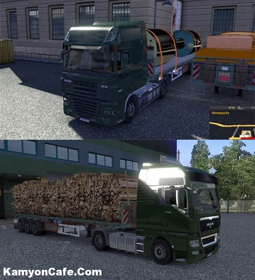 Photo of Flatbed Trailer Paketi [ETS2]