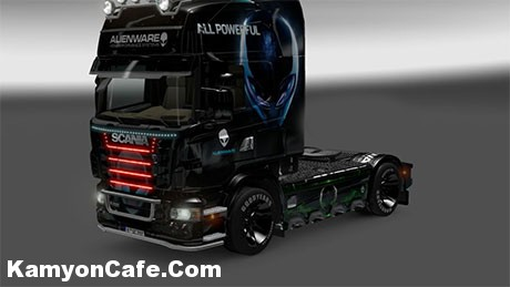 Photo of Scania Alienware Skin [ETS 2]