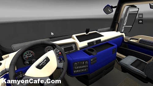 Photo of MAN Blue Interior [ETS 2]