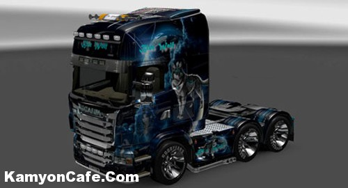 Photo of Scania Blue Wolf Skin [ETS2]