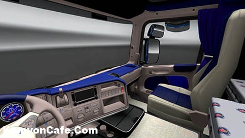 Photo of Scania Mavi Interior [ETS2]