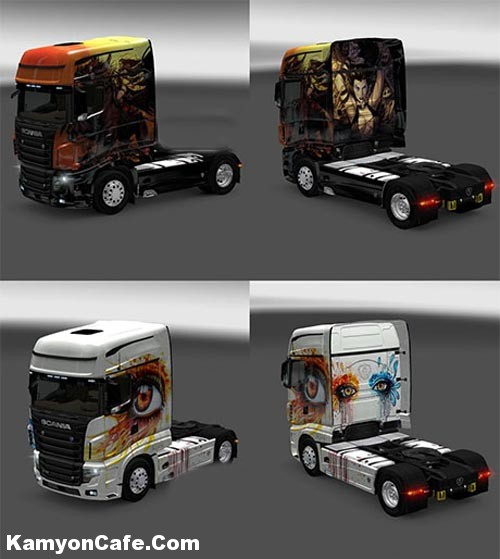 Photo of Scania R700 Xion Skin [ETS2]