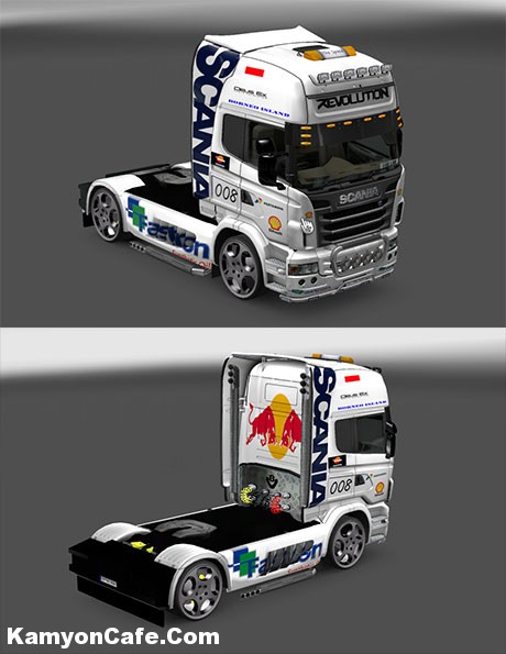 Photo of Scania Beyaz Skin [ETS 2]