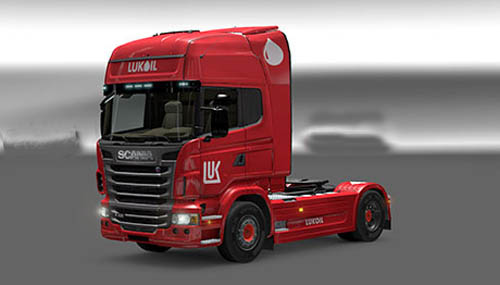 Photo of Scania Lukoil Skin [ETS 2]