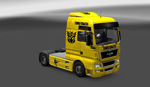 Photo of MAN Transformers Skin [ETS 2]