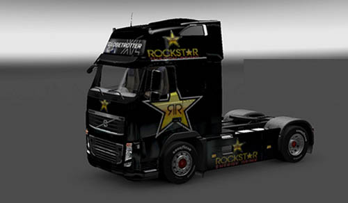 Photo of Volvo Rockstar Enerji Skin [ETS 2]