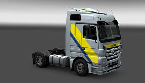 Photo of Mercedes Edeka Skin [ETS 2]